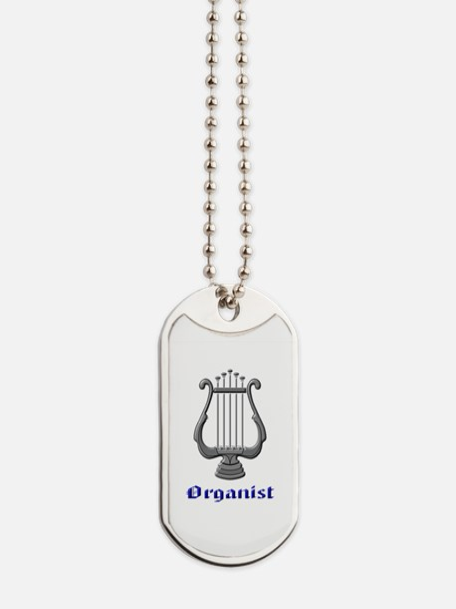 Organist Dog Tags