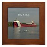 Philip R. Clarke Framed Tile