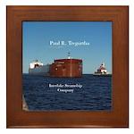 Paul R. Tregurtha Duluth Framed Tile