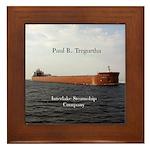 Paul R. Tregurtha Framed Tile