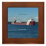 Arthur M. Anderson Framed Tile