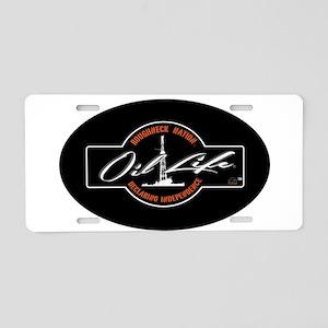 OIL LIFE Original Copyright Aluminum License Plate