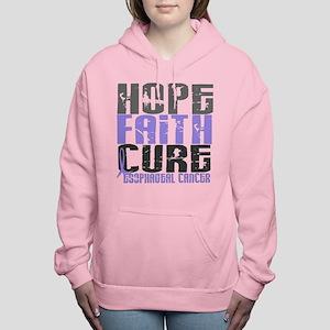 HOPE FAITH CURE Esophageal Cancer Sweatshirt
