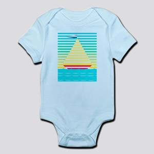 Sailboat Vector Body Suit