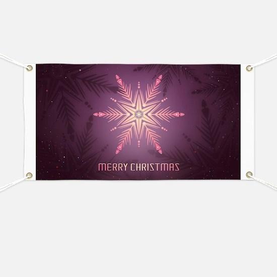 Cute Merry christmas Banner