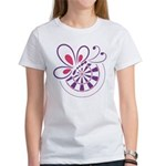 Bed and Butterfly Women's T-Shirt