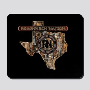 TEXAS RIG UP CAMO Mousepad