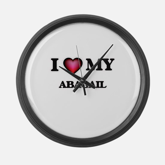 I love my Abagail Large Wall Clock