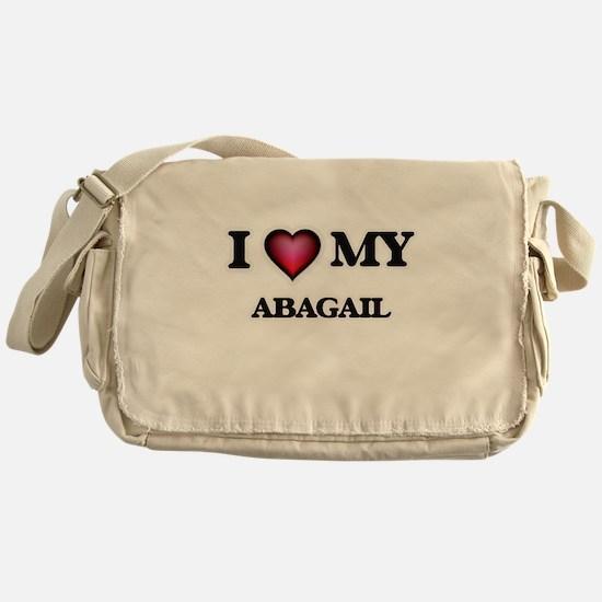 I love my Abagail Messenger Bag