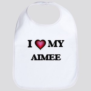 I love my Aimee Baby Bib
