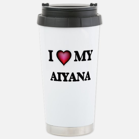I love my Aiyana Stainless Steel Travel Mug