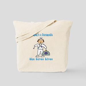 Paramedic Mom Gifts Tote Bag