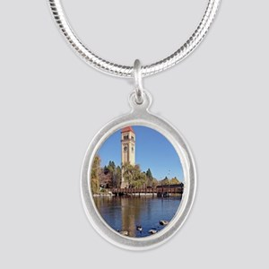Clock Tower River View Necklaces