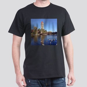 Clock Tower River View T-Shirt
