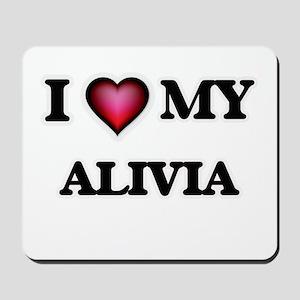 I love my Alivia Mousepad