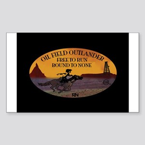 OILFIELD OUTLANDER Sticker