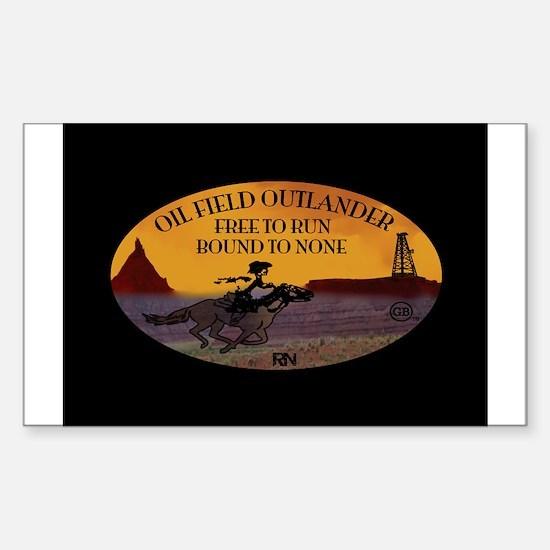 OILFIELD OUTLANDER Bumper Stickers