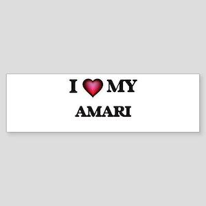 I love my Amari Bumper Sticker