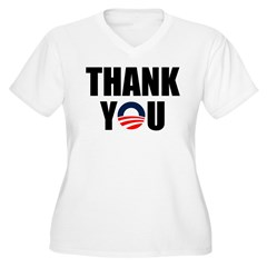Thank You Mr. President Plus Size T-Shirt