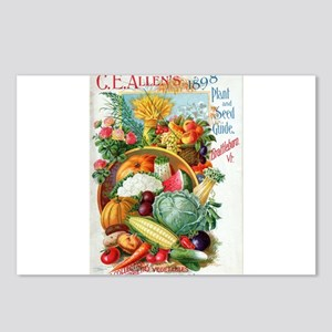 1898 Plant and Seed Guide Postcards (Package of 8)