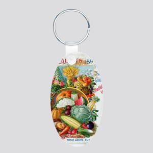 1898 Plant and Seed Guide Keychains
