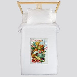 1898 Plant and Seed Guide Twin Duvet