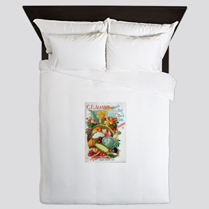 1898 Plant and Seed Guide Queen Duvet