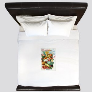1898 Plant and Seed Guide King Duvet