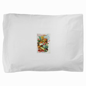 1898 Plant and Seed Guide Pillow Sham