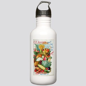1898 Plant and Seed Gu Stainless Water Bottle 1.0L