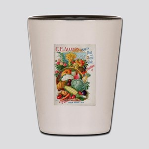 1898 Plant and Seed Guide Shot Glass