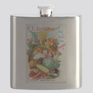 1898 Plant and Seed Guide Flask