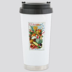 1898 Plant and Seed Gui Stainless Steel Travel Mug