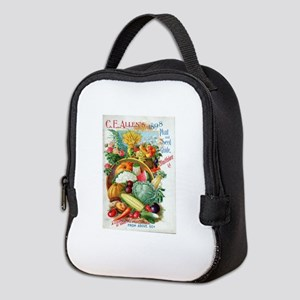 1898 Plant and Seed Guide Neoprene Lunch Bag