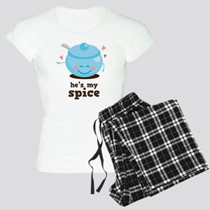 Couples Hes My Spice Pajamas