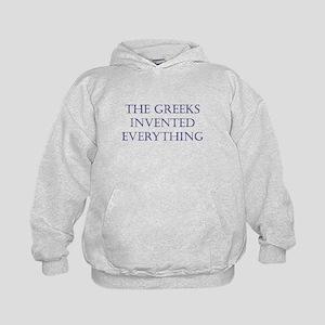 Greeks Invented Everything Sweatshirt