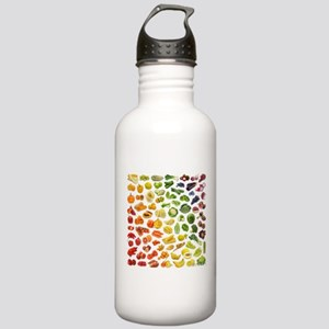Fruits and Vegetables Stainless Water Bottle 1.0L