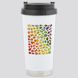 Fruits and Vegetables R Stainless Steel Travel Mug