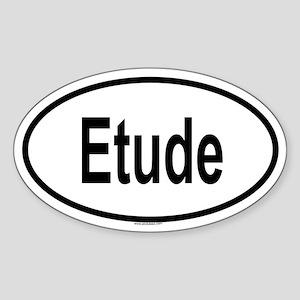 ETUDE Oval Sticker