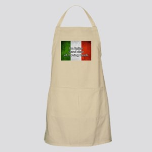 Stand Clear of Moving Hands Apron