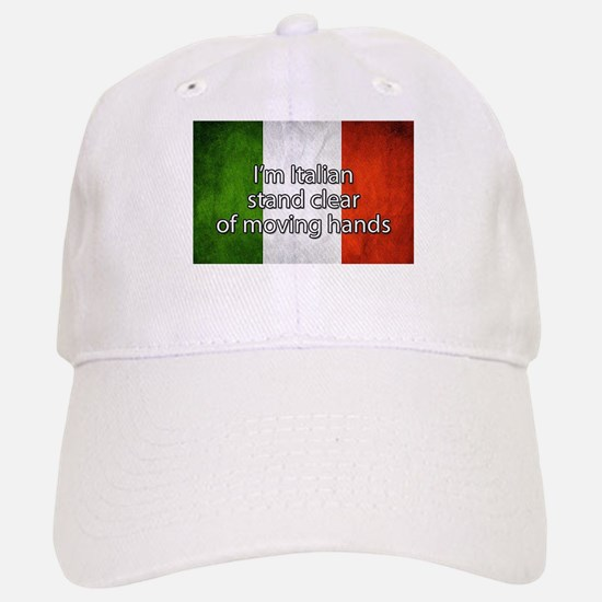 Stand Clear of Moving Hands Baseball Baseball Baseball Cap