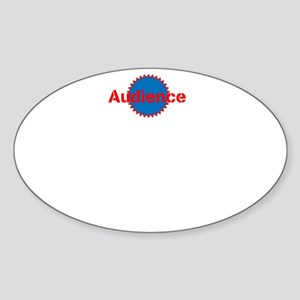 Audience Accessories Logo Sticker
