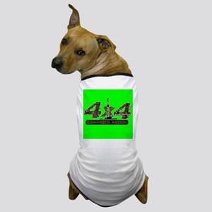 4X4 RIG UP CAMO Dog T-Shirt