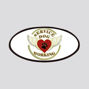 SERVICE DOG WORKING WINGS Patch