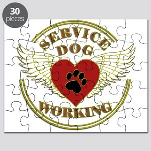 SERVICE DOG WORKING WINGS Puzzle