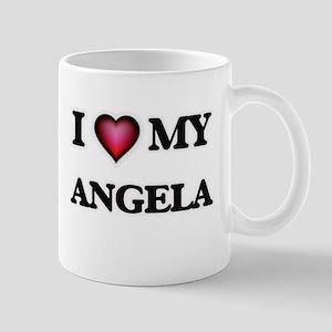I love my Angela Mugs