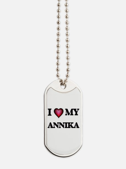 I love my Annika Dog Tags