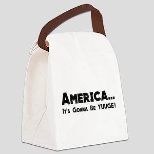 YUUGE Canvas Lunch Bag
