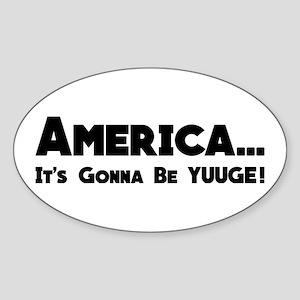 YUUGE Sticker
