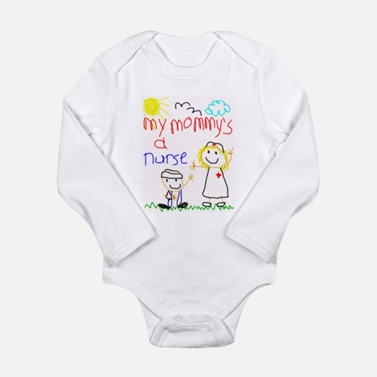 Mommy's a Nurse Infant Creeper Body Suit